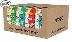 Popchips Potato Chips, Variety Pack, 24 Count,4Flavors