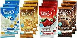 Quest Nutrition Powder Protein Shake Packets 12-Pack Variety