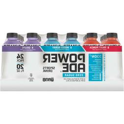 Powerade Zero Sports Drink Variety Pack  20oz of each pack