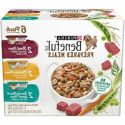 Purina Beneful Prepared Meals Beef Stew, Chicken Stew, And S