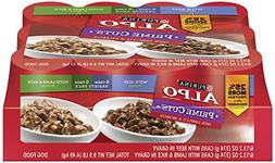 Purina ALPO Prime Cuts In Gravy With Beef, Lamb &Rice Variet