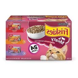 Purina Friskies Prime Filets Adult Wet Cat Food Variety Pack