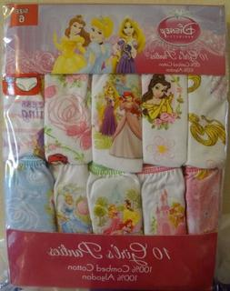 Disney Princess 10 Girls Panties Handcraft