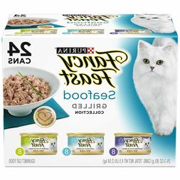 Purina Fancy Feast Gravy Wet Cat Food Variety Pack -  3 oz.