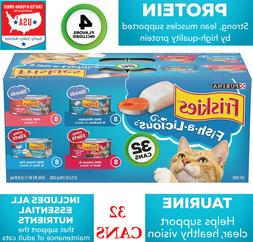 Wet Cat Food Variety Fish-A-Licious Shreds Prime Filets  5.5