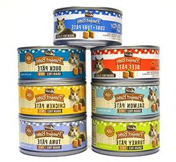 Merrick Purrfect Bistro Pate Canned Cat Food Variety Pack -