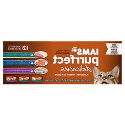 Iams Purrfect Delicacies Flaked Adult Wet Cat Food Variety P