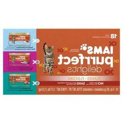 Iams Purrfect Delights 18-Can Variety Pack Canned Cat Food,