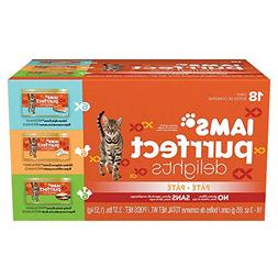 DISCONTINUED: IAMS PURRFECT DELIGHTS Pate in Gravy Variety P