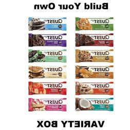 QUEST Protein Bars - BUILD YOUR OWN VARIETY BOX - ALL FLAVOR