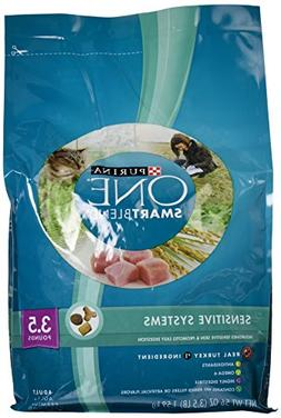 Purina ONE Sensitive Systems Adult Dry Cat Food - 3.5 lb. Ba