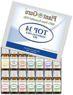 Essential Oil Set 14-10 ml Pure Therapeutic Grade Includes F