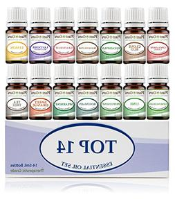 Essential Oil Set 14-5 ml Therapeutic Grade 100% Pure Franki