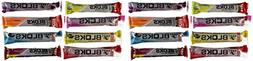 NEW Clif Shot Bloks Sampler Variety Pack - 1 of Each Flavor