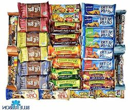 Snack Variety Pack, Healthy Bars Sampler Care Package in an
