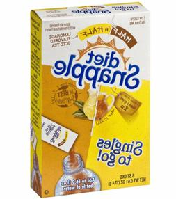 Snapple Diet Singles To Go! Drink Mix Packet, Lemonade Iced