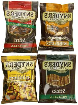Snyder's of Hanover Pretzel Variety Pack, 1.5 Ounce, Pack of