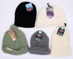 Solid Cable Knit Hats