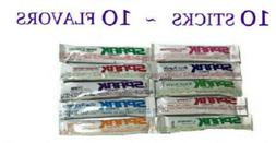 Advocare Spark Sample Variety Pack ~10 Stick Pouches~ 10 FLA