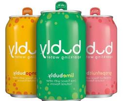 Sparkling Water Variety Pack, 12 fl Oz. Cans