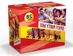 Frito-Lay Spicy Party Mix Variety Pack, 28 Count
