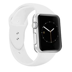 iGK Sport Band Compatible for Apple Watch 38mm, Soft Silicon