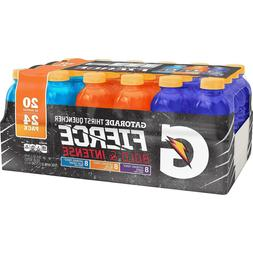 Gatorade Sports Drinks Fierce Variety Pack 20 oz., 24 pk,New