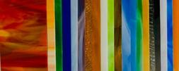"Stained Glass Sheet Variety Pack of 10- 8"" X 4"""