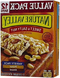 Nature Valley Sweet & Salty Nut Granola Bars, Value Pack - P