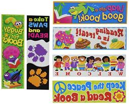 TREND T12906 Bookmark Combo Packs, Celebrate Reading Variety