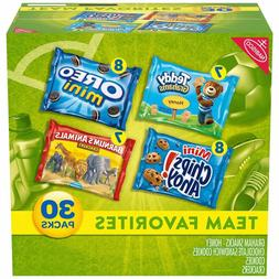 Nabisco Team Favorites Mix - Variety Pack with Cookies & Cra