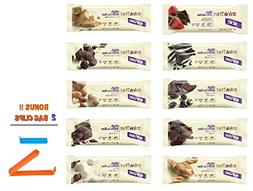 Think Thin Protein Bar,Variety Pack, 1 of Each , BONUS !! 2