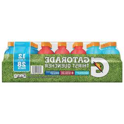 Gatorade Thirst Quencher, Variety Pack, 12 fl oz, 28-count