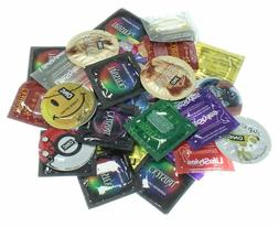 Lifestyles, Trustex, One, & More Condoms Variety Pack - 100