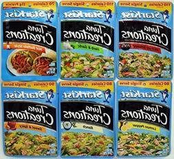 Starkist Tuna Creations Variety Pack, 2.6-Ounce Pouch, 6 Fla