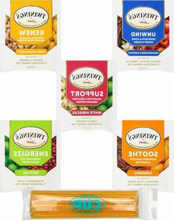 twinings wellness hot tea variety pack 30