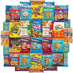 Ultimate Care Package Includes Chips, Cookies, Bars, Nuts &