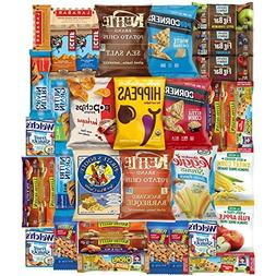 Ultimate Healthy Chips, Bars, Crackers & Snacks Care Package