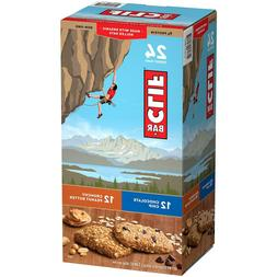 Clif Variety Bar 24 Count, 8 White Chocolate Macadamia Nut,