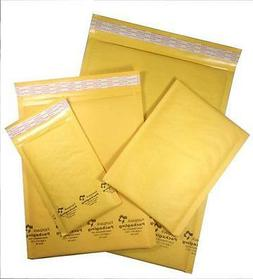 Variety Pack Bubble Mailers Padded Envelopes 25 ea #000 #0 #