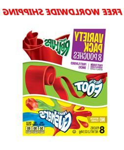 Betty Crocker Variety Pack Fruit Roll-Ups By The Foot & Gush