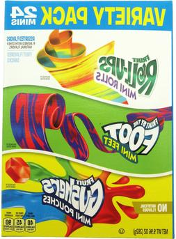 Betty Crocker Variety Pack Gushers Fruit Roll-Ups By the Foo