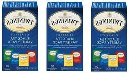 Twinings Variety Pack of Four Flavors, Tea Bags, 20-Count -