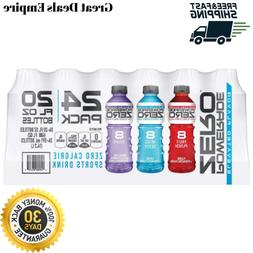 Variety Pack Powerade Zero Calories Sports Drink 24 Pack FRE