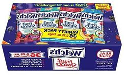 WELCHS Variety Pack Fruit Snacks, 2.25 Ounce, 36 Count