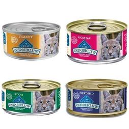 Blue Buffalo Wilderness Grain-Free Variety Pack Canned Cat F