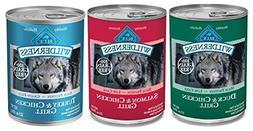 Blue Buffalo Wilderness Grain-Free Wet Adult Dog Food Variet